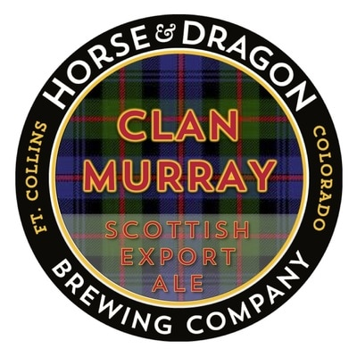 Clan Murray Scottish Export Ale logo.