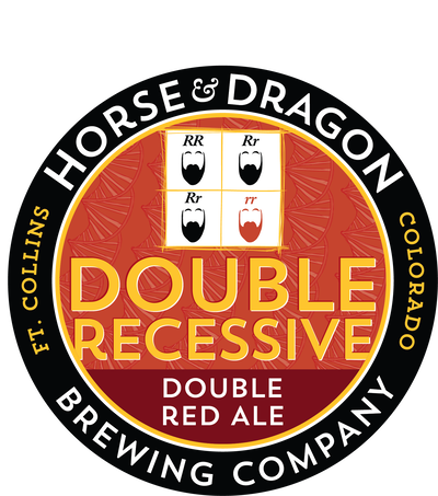 Double Recessive Double Red Ale logo.