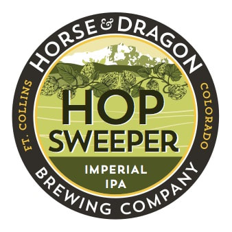 HopSweeper Imperial IPA logo.