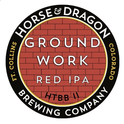 Groundwork Red IPA logo.