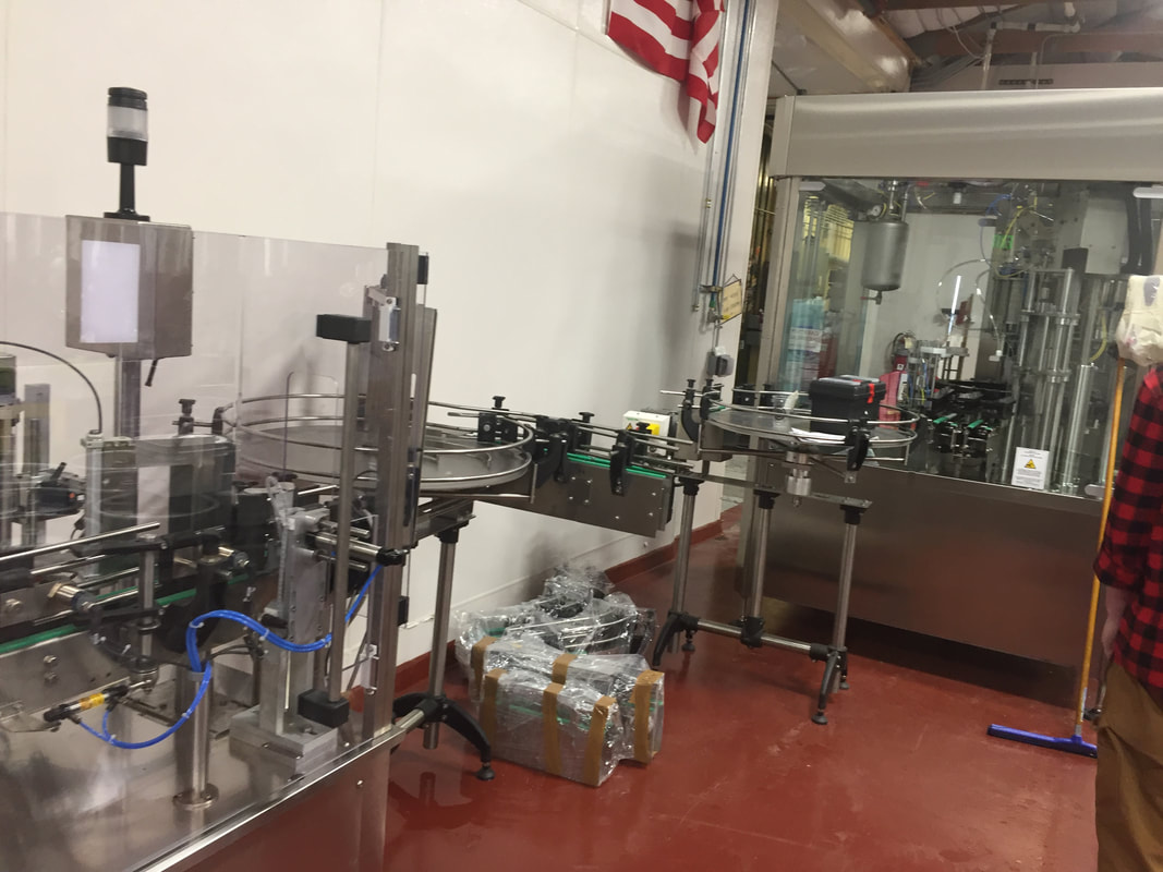 Bottling line (not in use).